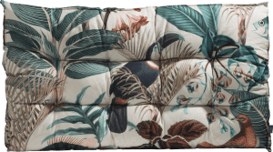 summer jungle outdoor cushion 120x75cm
