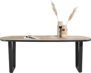 table ovale 210 x 110 cm