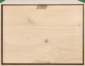 box 45 x 60 cm. + etager - a suspendre + porte rabattante