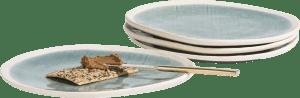 amalfi set of 4 plates d27cm