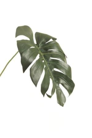 monstera leaf artificial flower h55cm