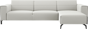 2,5 Sitzer Armlehne Links - Longchair Rechts