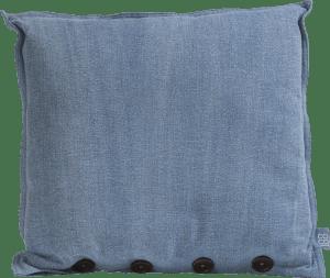 denim cushion 45x45cm