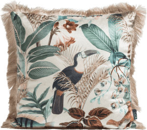 summer jungle cushion 45x45cm