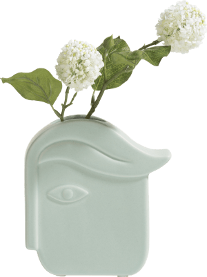 face vase m h18cm