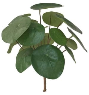 pilea bush artificial flower h25cm