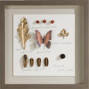 treasures wandobject 50x50cm