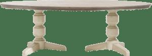 tisch oval 190 x 100 cm
