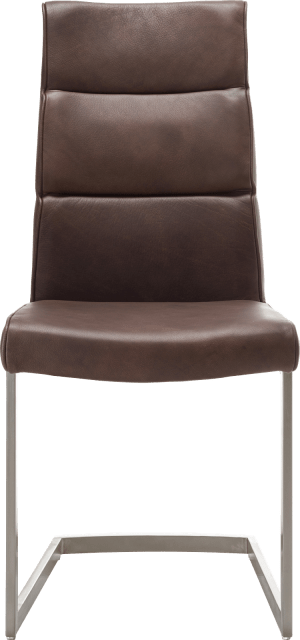 chaise - inox traineau carre