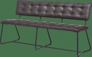 banquette 160cm. - frame noir - corsica