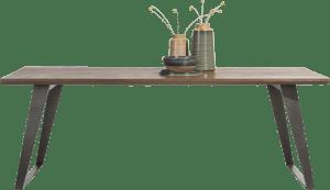 tisch 220 x 100 cm - fuss viereckig