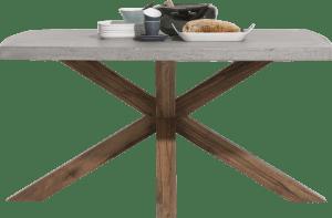 table 130 x 110 cm - plateau beton