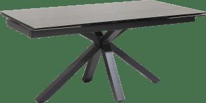 table a rallonge 170 (+ 2x40) x 90 cm