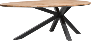 dining table 200 x 120 cm - solid kikarwood