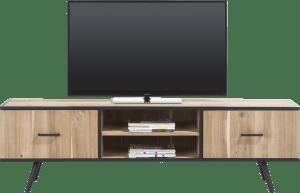 tv-dressoir 190 cm - 1-deur + 1-lade + 2-niches