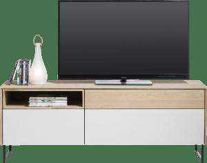 lowboard 3-tiroirs + 1-niche - 160 cm (+ led)
