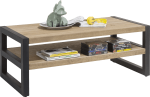 salontafel 120 x 60 cm + 1-niche