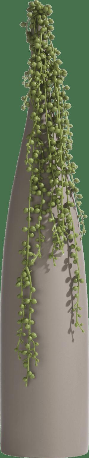 sharp vase l h61cm