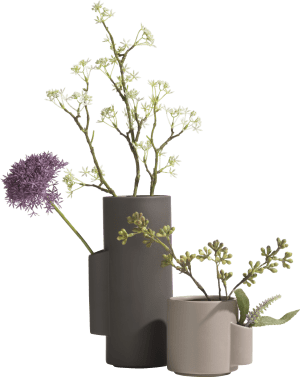 bamboo vase h25cm