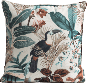 summer jungle outdoor cushion 45x45cm
