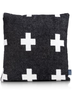 cross cushion 45x45cm