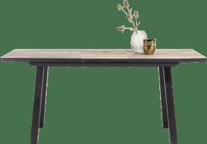 table de bar extensible 160 (+ 50) x 98 cm