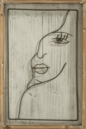 face deco murale 40x60cm