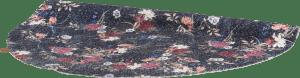 flower rug d150cm