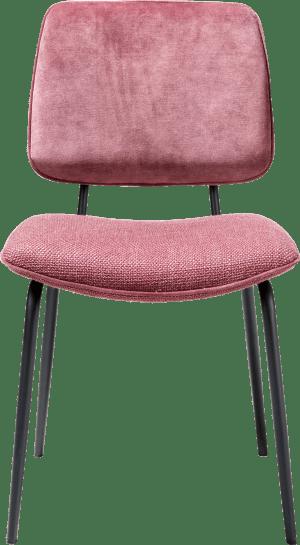 chaise - pied off black - dos en karese & assise en vito