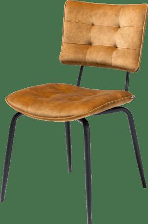 chaise - off black - tissu karese