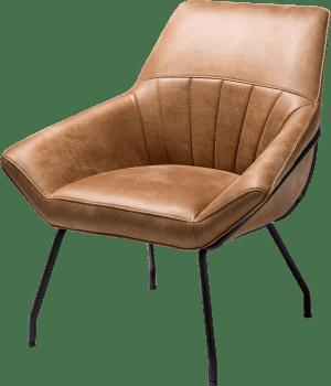fauteuil - cadre off black - tissu rocky
