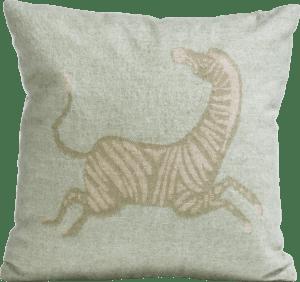 zebra cushion 45x45cm