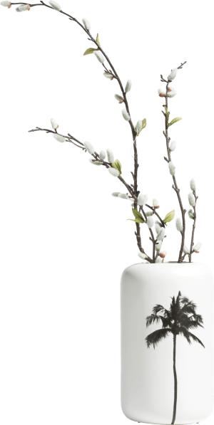 palm vase m h25cm