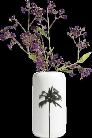 palm vase l h29cm