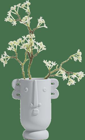 ruby vase s h20cm