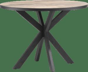 table de bar ronde 130 x 110 cm