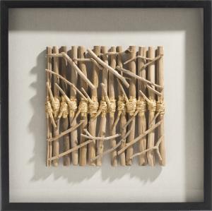 drift sticks 3d wanddeko 70x70cm