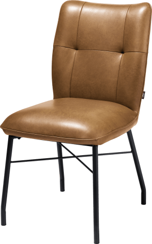 chaise + ressorts ensaches avec poignee en catania noir - laredo