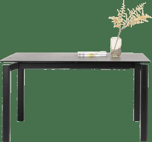 table a rallonge 140 x 100 cm (+ 60 cm)