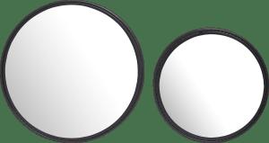 harry set of 2 mirrors d50-40cm