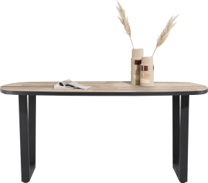 table de bar ovale 240 x 110 cm