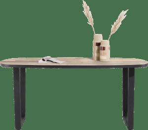 table de bar ovale 240 x 110 cm