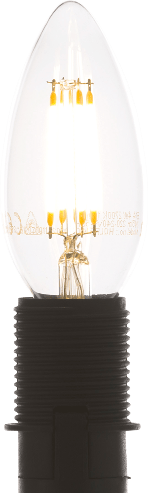 led e-14 - candle filament - warm white
