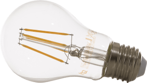 led e-27 - variateur - retro - warm white (clear)