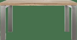 eetkamertafel 90 x 160 cm - u-onderstel