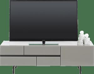 tv-dressoir 140 cm - 1-lade + 1-klep