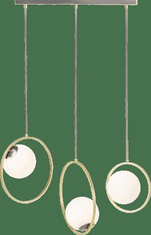 leah, lustre - 3 ampoules g9