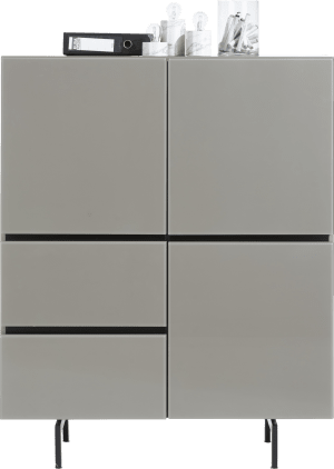 highboard 115 cm - 3-portes + 2-tiroirs