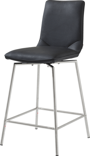 barchair stainless steel + moreno
