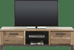 tv-dressoir 170 cm - 1-lade + 1-klep + 2-niches